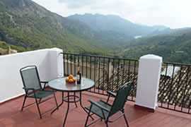 accommodation for walkers costa blanca