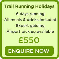 trail running holidays spain