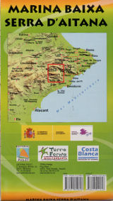costa blanca walking map